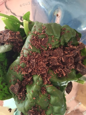 chocolate spinach