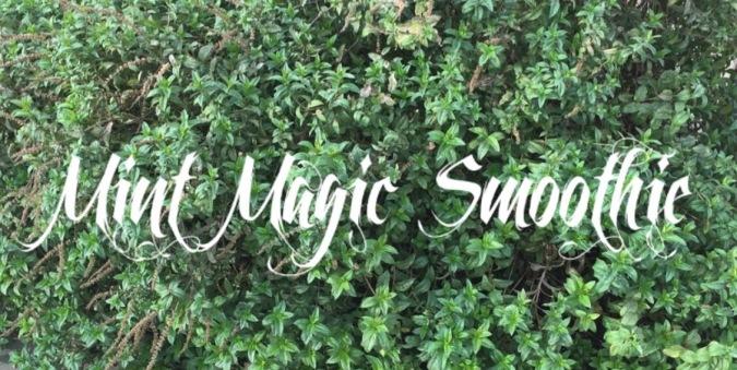 mint magic smoothie