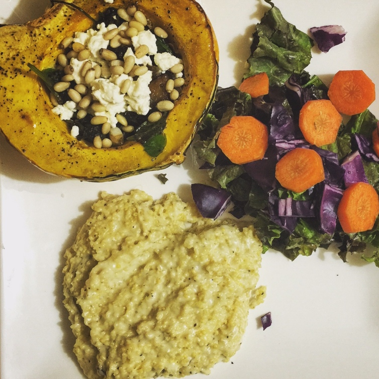 squash and millet